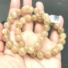 『晶鑽水晶』天然鈦晶 手鍊 9.5mm 招財 男生手鍊 女生手鍊 增強自信