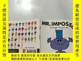 二手書博民逛書店英文原版繪本Mr.罕見Impossible不可能先生Y200392