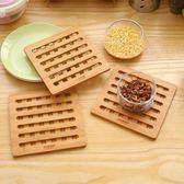 隔熱墊實木竹防燙手耐高溫砂鍋墊餐具墊創意餐桌墊加厚耐熱碗墊子  小時光生活館