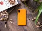 alto iPhone Xs 真皮手機殼背蓋 5.8吋 Original - 焦糖棕【可加購客製雷雕】皮革保護套