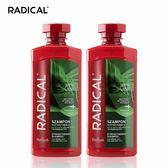 【RADICAL】調理洗髮露(2入組) (共6款) 馬尾草/菩提樹花/銀杏/小麥仔粒/白柳/鼠尾草