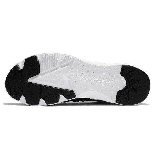 Reebok 休閒鞋 Furylite X 黑 白 襪套式 抽繩鞋帶設計 反光 運動鞋 男鞋【PUMP306】 BS6191