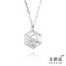 .925純銀、鋯石 .六角鏤空造型 .象徵富貴的鑽石在其中運轉,使配戴者富貴運轉。