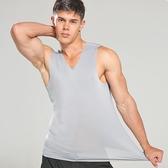 店長嚴選冰絲無痕男士背心男夏季修身型緊身青年運動無袖薄款打底汗衫