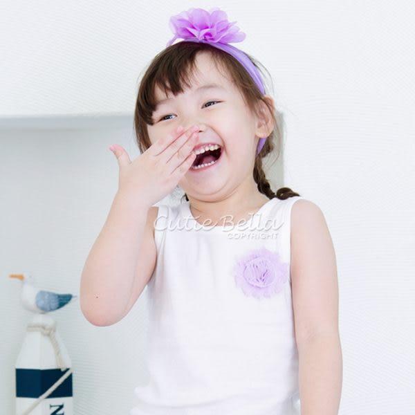 Cutie Bella無袖上衣/背心Shabby Rose-Lilac