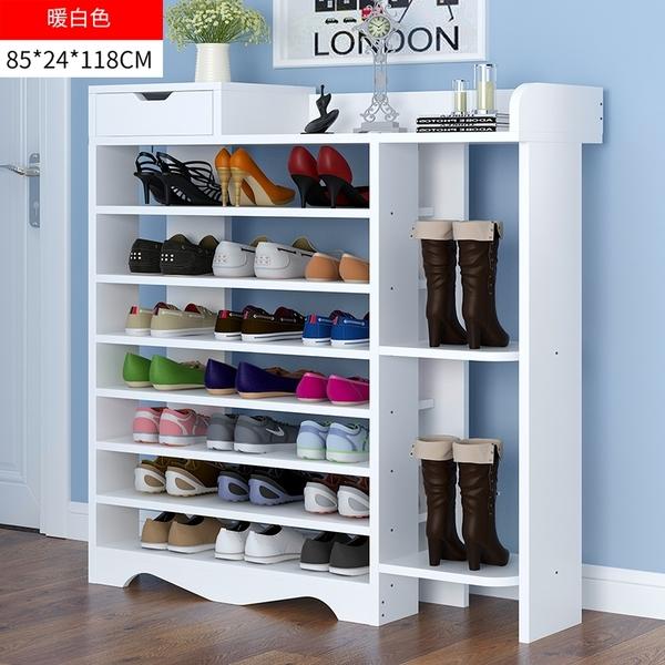 鞋架 簡易家用多層防塵經濟型鞋架 小窄門口鞋櫃 省空間多功能組裝收納架