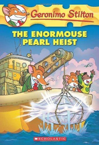 (二手書)Geronimo Stilton(51):Enormouse Pearl Heist