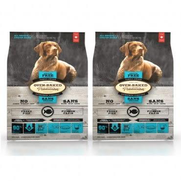 【Oven-Baked】烘焙客 全犬 無穀類魚肉 大顆粒 5磅 X 2包