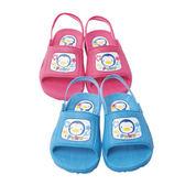 PUKU 藍色企鵝學步拖鞋13 14 15 16 號藍色粉紅