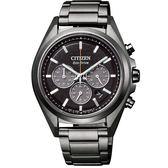 CITIZEN Eco-Drive 極限巔峰時計腕錶/鈦金屬/CA4394-54E