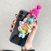 魔發精靈巨魔娃娃奶油手機殼IPHONE 11 PRO X XS MAX蘋果XR SE2軟