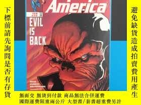 二手書博民逛書店CAPTAIN罕見AMERICA RED GLARE PREM