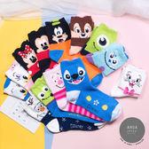 現貨✶正韓直送【K0262】韓國襪子 絨毛迪士尼彩色全版立體耳朵中筒襪 韓妞必備 免運 阿華有事嗎