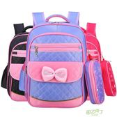 後背包 兒童書包小學生女1-3-4-6一年級可愛女孩後背包正韓  中元節禮物禮物