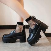洛麗塔鞋子復古圓頭娃娃鞋日系松糕底COS公主鞋二次元萌系女鞋潮 QQ3189『MG大尺碼』