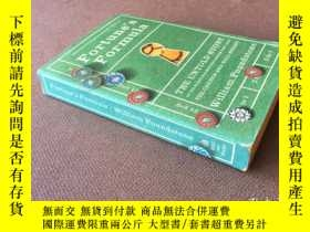二手書博民逛書店Fortune s罕見Formula   財富公式 (英語)Y2