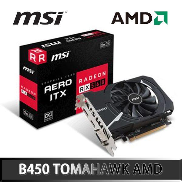 MSI 微星 Radeon RX 560 AERO 4G OC AMD 顯示卡