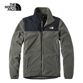 The North Face 男 保暖抓絨外套 墨綠 NF0A49AE21L【GO WILD】