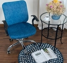 椅套 通用電腦椅套罩分體辦公室椅子套升降旋轉座椅套椅背靠背套凳子套【快速出貨八折搶購】