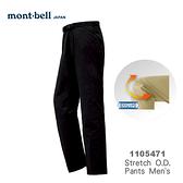 【速捷戶外】日本 mont-bell 1105471 Strech O.D. 男彈性長褲(黑色) ,登山長褲,旅遊長褲,montbell