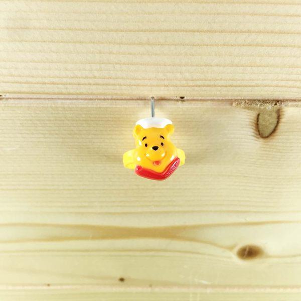 【震撼精品百貨】Winnie the Pooh 小熊維尼~戒指-黃