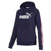 Puma Tape 女 深藍 長袖 連帽上衣 帽T 圓領T 衛衣 休閒 運動 健身 棉質 長袖 85387306