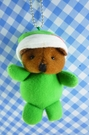 【震撼精品百貨】日本日式精品_熊_Bear~變身絨毛娃娃-熊變青蛙