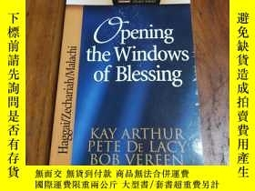 二手書博民逛書店Opening罕見the Windows of Blessing