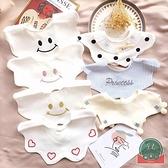 嬰幼兒純棉圍嘴兜寶寶口水巾360度可旋轉新生兒童【聚可爱】