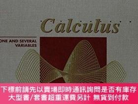 二手書博民逛書店Calculus:罕見One and Several Variables-微積分:一個和幾個變量Y414958