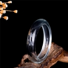 玉鐲 天然東海白水晶少小女孩手鐲通透女款鐲子白水晶鐲玉鐲子 手環