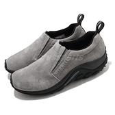 Merrell 休閒鞋 Jungle Moc 都會休閒 套入式 灰 黑 麂皮 男鞋 【ACS】 ML71447