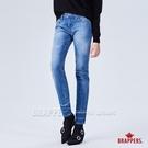 BRAPPERS 女款 新美腳ROYAL系列-彈性褲口漸層八分褲-淺藍
