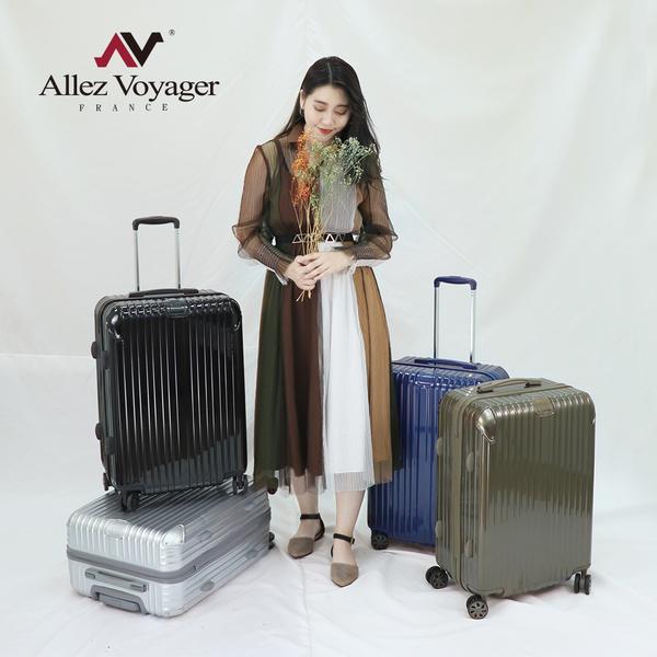 登機箱 行李箱 旅行箱 20吋 PC金屬護角耐撞擊硬殼 奧莉薇閣 箱見恨晚系列 黑色