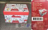 車之嚴選 cars_go 汽車用品【TH77-SP40】SNOOPY 史奴比 紅色屋頂 圖案 皮革收納置物箱(可掀蓋)