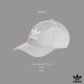 IMPACT Adidas Originals Trefoil Cap LOGO 灰 白 老帽 棒球帽 三葉草 情侶 男女可戴 BK7282