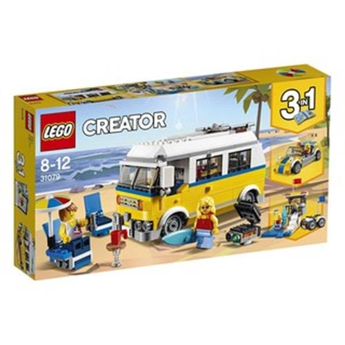 LEGO 樂高 Creator 3in1 Sunshine Surfer Van 31079 (379 Piece)