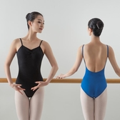 舞蹈服 芭蕾舞練功服女大人基訓形體空中瑜伽藝考吊帶體操教師舞蹈連身服【全館免運】