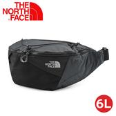 【The North Face 6L 多功能腰包《灰黑》】3S7Y/側背包/隨行包/臀包/透氣/運動/跑步