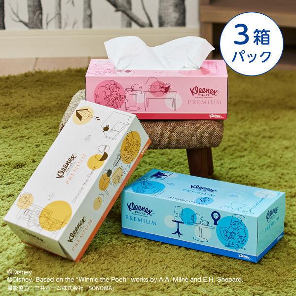Kleenex 舒潔 迪士尼(米奇/米妮/維尼)衛生紙 3盒入 160抽