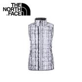 【The North Face 女 700 fill 羽絨背心《白樺木印花》】CUB8/登山/戶外/賞雪/保暖