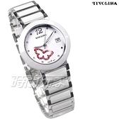 TIVOLINA 蝴蝶心鑽 鑽錶 陶瓷錶 防水錶 藍寶石水晶鏡面 日期顯示窗 女錶 白色 MAW3687WP