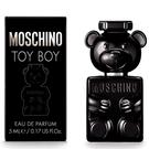 MOSCHINO TOY BOY 黑熊 黑色泰迪熊 男性淡香精 5ml【七三七香水精品坊】