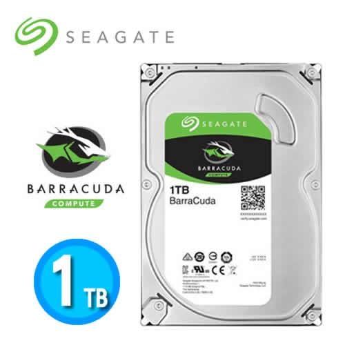 Seagate【BarraCuda】新梭魚 1TB 3.5吋桌上型硬碟 (ST1000DM010)