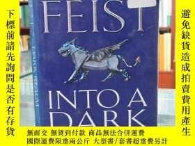 二手書博民逛書店Into罕見a Dark Realm (Darkwar, Book 2)進入黑暗的領域(達克瓦,第2冊)Y17