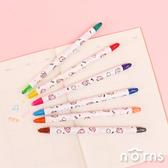 卡娜赫拉雙頭旋轉蠟筆組6入- Norns Kanahei 12色彩色筆 著色筆