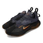 Nike 慢跑鞋 React-Type GTX 黑 橘 膠底 Gore-Tex 男鞋 運動鞋 N.354 【PUMP306】 BQ4737-001