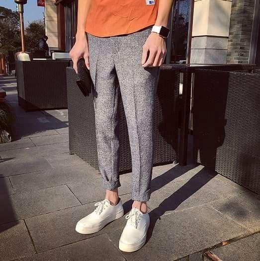 立體抓線 西裝褲 高品質 外出褲