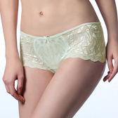 LADY 奧蒂莉亞系列 中低腰平口褲(湖水綠)