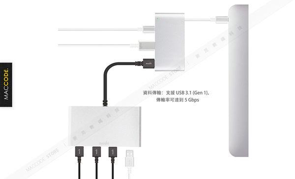 Moshi USB-C To USB / HDMI 轉接器 Hub 公司貨 現貨